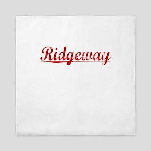 Ridgeway, Vintage Red Queen Duvet