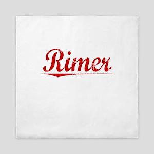 Rimer, Vintage Red Queen Duvet
