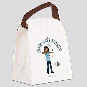 archery-blue-dark Canvas Lunch Bag