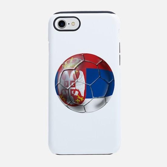 Serbian Football iPhone 7 Tough Case