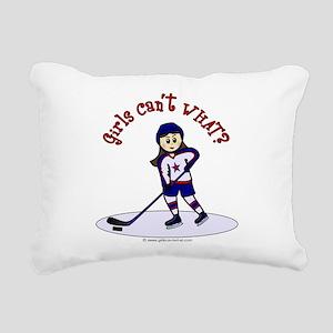 hockey-light2 Rectangular Canvas Pillow