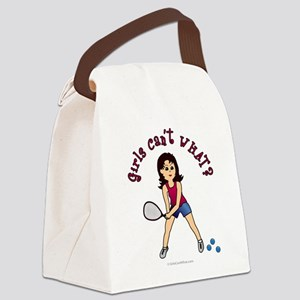 raquetball-light Canvas Lunch Bag