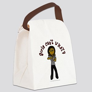 3-referee-dark Canvas Lunch Bag