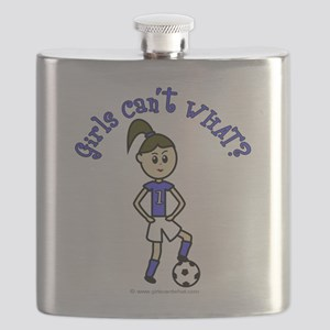 soccer-white-light Flask