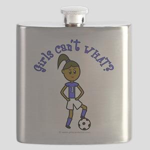 soccer-white-dark Flask