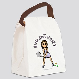 tennis-light Canvas Lunch Bag