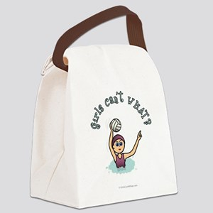 water-polo-light Canvas Lunch Bag