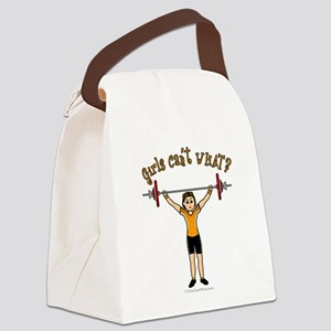 weightlifting-light Canvas Lunch Bag