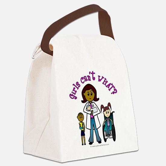doctor-white-dark.png Canvas Lunch Bag