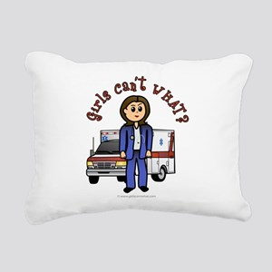 paramedic-light Rectangular Canvas Pillow