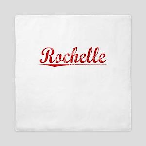 Rochelle, Vintage Red Queen Duvet