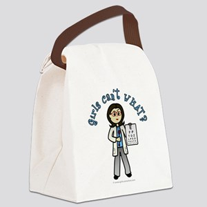 optometrist-light Canvas Lunch Bag