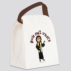 preacher2-light Canvas Lunch Bag