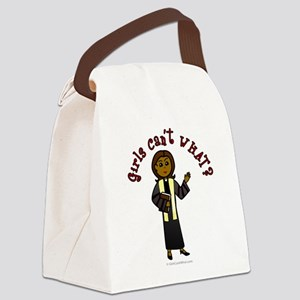 preacher2-dark Canvas Lunch Bag