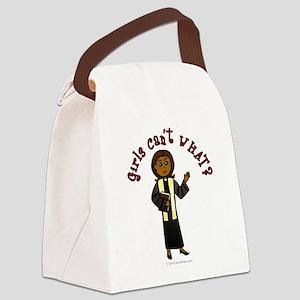 preacher2-dark Canvas Lunch Bag