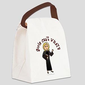 preacher-blonde Canvas Lunch Bag