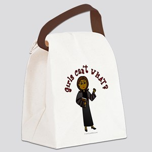 preacher-dark Canvas Lunch Bag