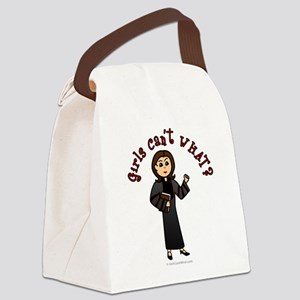 preacher-light Canvas Lunch Bag