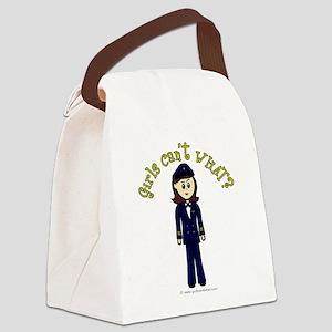 pilot-brown Canvas Lunch Bag