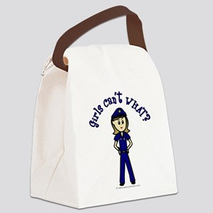 police2-white-light Canvas Lunch Bag