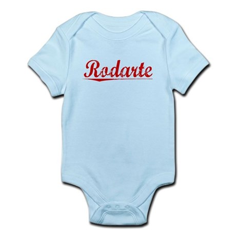 Rodarte, Vintage Red Infant Bodysuit