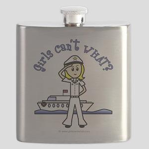 captain-white-light Flask