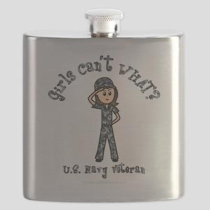 military-navy-veteran-light Flask