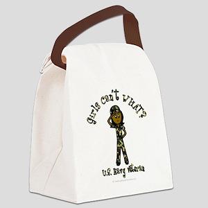 military-navy-dark Canvas Lunch Bag