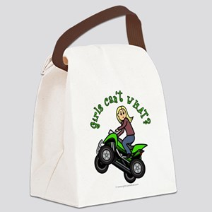 atv-blonde Canvas Lunch Bag