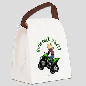 atv-blonde Canvas Lunch Bag