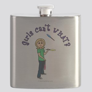 juggler-blonde Flask