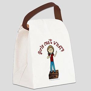 soapbox-light Canvas Lunch Bag