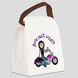 Custom Biker Canvas Lunch Bag