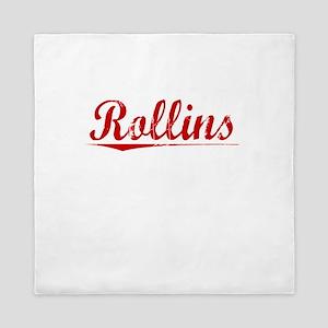 Rollins, Vintage Red Queen Duvet