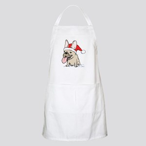 French Bulldog Christmas Apron