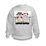 Merry Christmas From Maine! Kids Sweatshirt