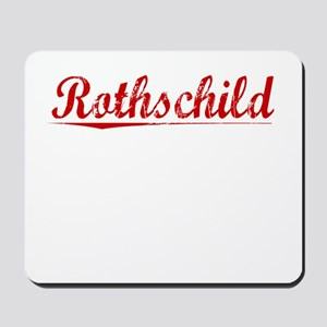 Rothschild, Vintage Red Mousepad