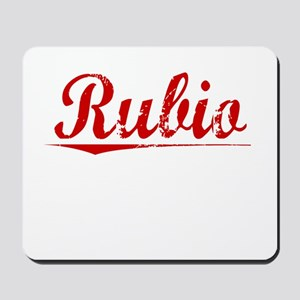 Rubio, Vintage Red Mousepad
