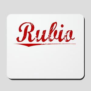 Rubio, Vintage Red Mousepad