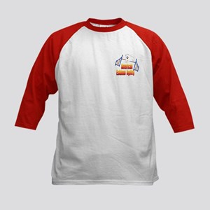 American Eskimo Dog Kids Baseball Jersey