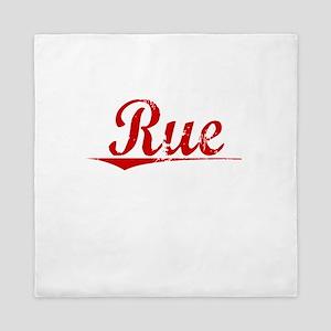 Rue, Vintage Red Queen Duvet