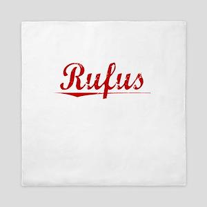 Rufus, Vintage Red Queen Duvet