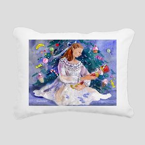 Clara & Nutcracker Rectangular Canvas Pillow