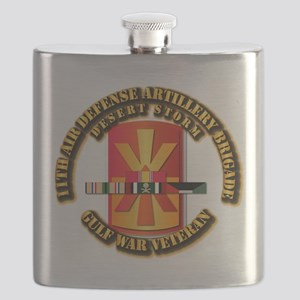 Army - DS - 11th ADA Bde Flask