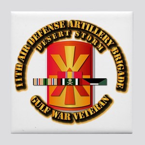Army - DS - 11th ADA Bde Tile Coaster