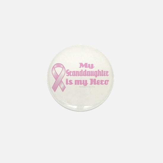 granddaughter is my hero Mini Button