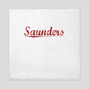 Saunders, Vintage Red Queen Duvet