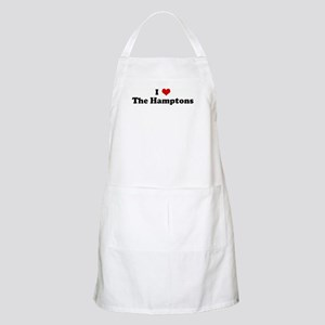 I Love The Hamptons BBQ Apron