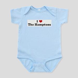 I Love The Hamptons Infant Creeper