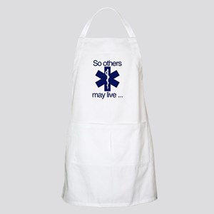 So others may live ... Apron